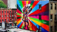 International Kiss Day - by Eduardo Kobra be artist be art