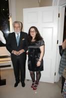 Mara Alves founder of PortugArt with His Excellency The Ambassador João De Vallera (1)