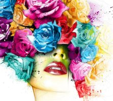 Powerful Colour Art - by Patrice Murciano - be artist be art