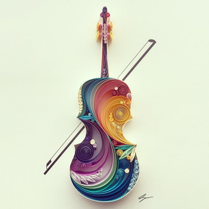 Magnificent 3D colorful artwork - by Sena Runa - be artist be art