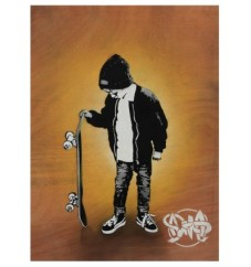 Social Critic by Nme, selftaught urban artist - Hall-13 - be artist be art