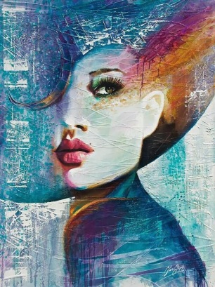 Beauty Painting - by Hans Mantel - Be artist Be art
