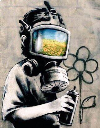 Respect Nature - Street Art - be artist be art