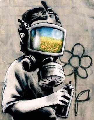 Respect Nature - Street Art - be artist be art