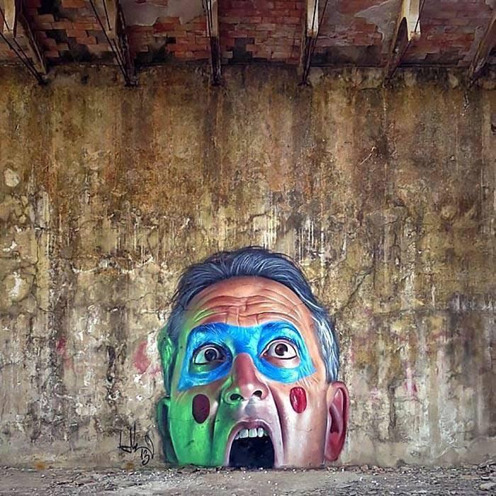 Mondays - Street art - be artist be art