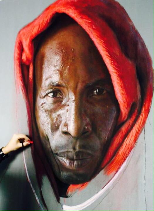 Hyperreal Portrait  - by Ruben Belloso - be artist be art