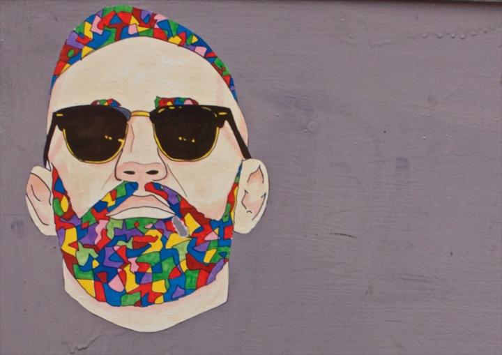 Beard times - Art hipster - be artist be art