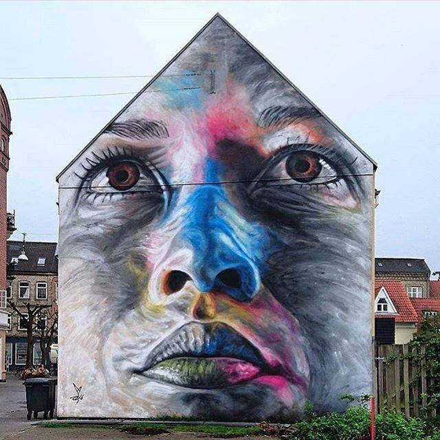 Colours Portrait - Street Art - be artist be art