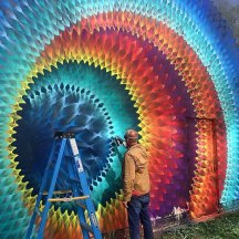#StreetArt Rainbow - Creative Colours - be artist be art