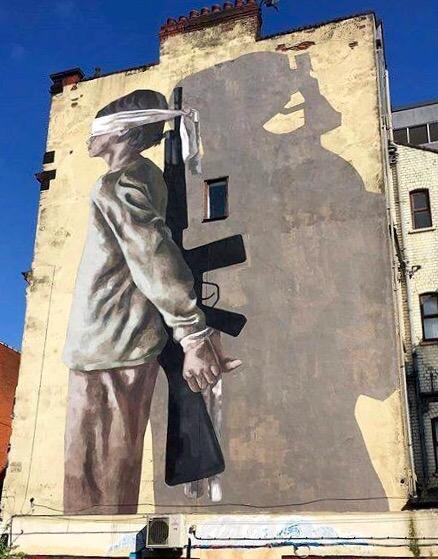 War Kids - Street Art - be artist be art