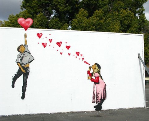 Young Love - #StreetArt - be artist be art
