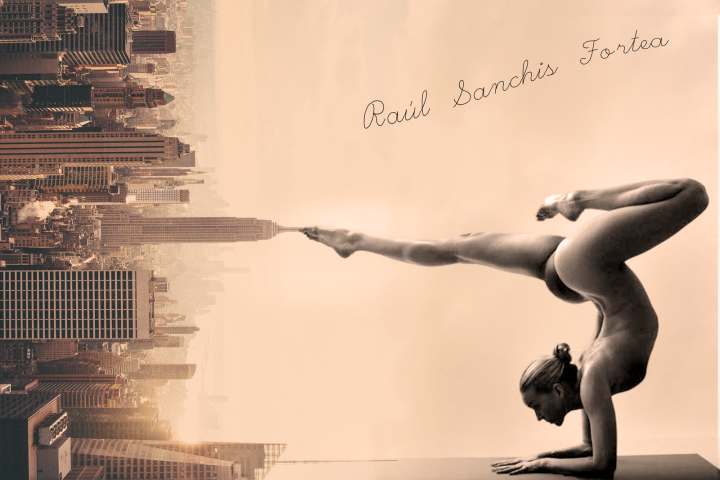 Yoga York - Beauty Raisng the Sky - be artist be art