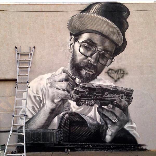 Passion - #StreetArt - be artist be art
