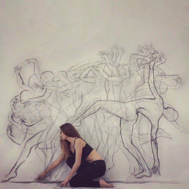 Dance Painting - Zarah Abraham