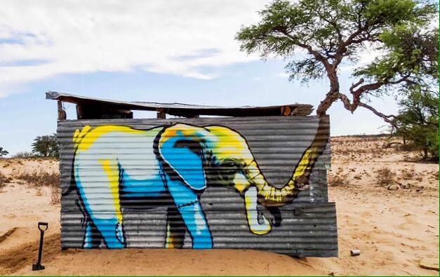 Afrikan Nature #Street Art - be artist be art