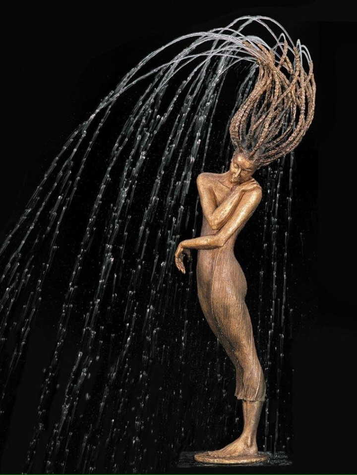 Water Dance - #sculpture - be artist be art