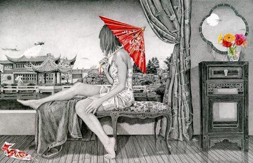 Mystic World - by Kay Ruane - be artist be art