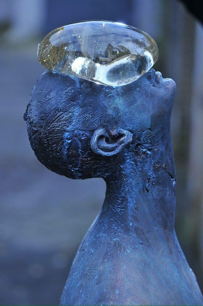 Water drop #sculpture - by Nazar Bilyc - be artist be art