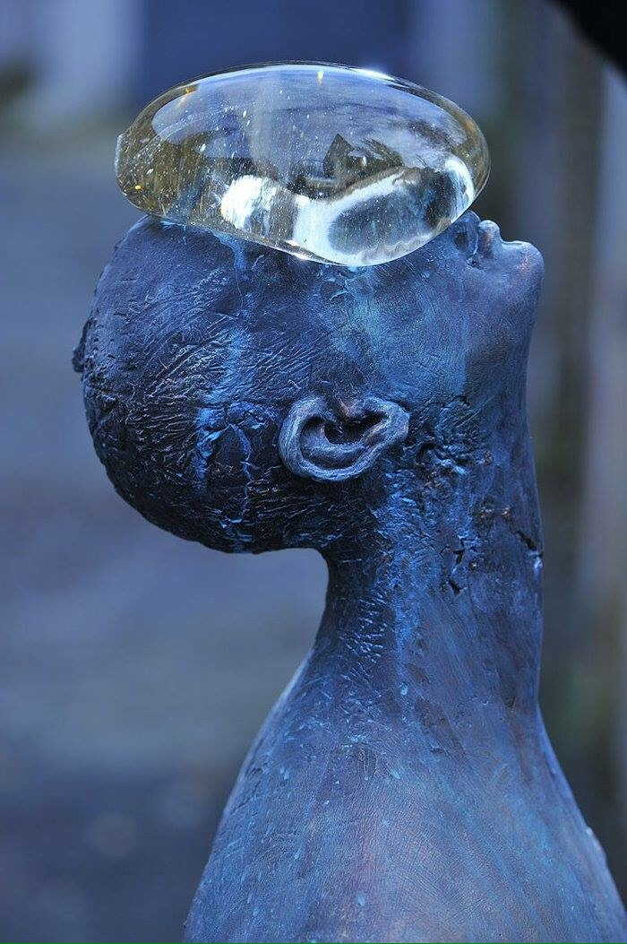 Water drop #sculpture - by Nazar Bilyc - be artist be art