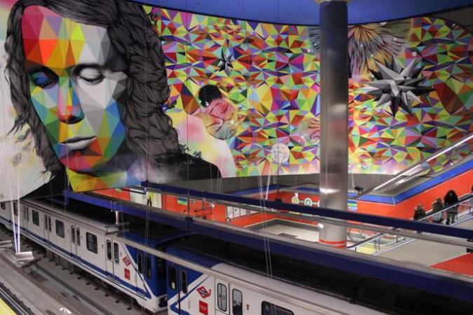 OKUDART - A genius of Multicolor Geometric Art