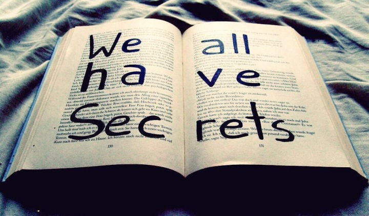 We all have #Secrets - Creative quote  - beartist be art