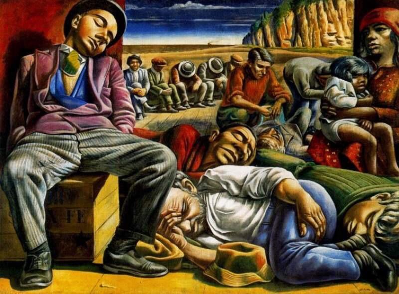 #Unemployement - by Antonio Berni - be artist be art