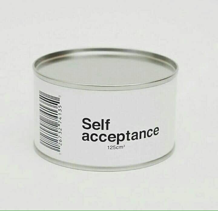 Self Acceptance - #Creative - be artist be art