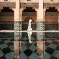 Lonely #Soul - Ben Youssef Mosque by Takashi Nakagawa