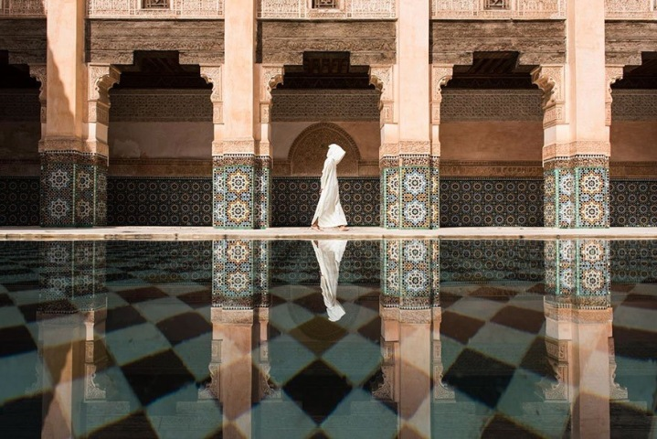 Lonely #Soul - Ben Youssef Mosque by Takashi Nakagawa - be artist be art