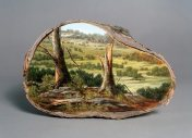 Landscape Painting on Trees - by Alison Moritsugu - be artist be art