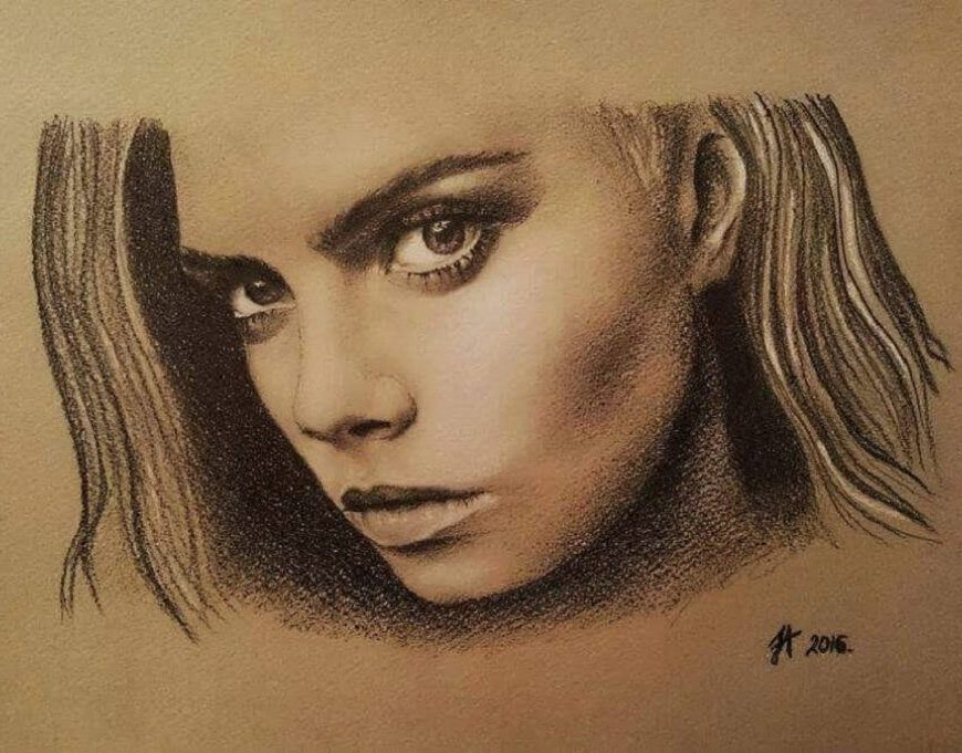 Emotions & Passion by Pencil - Aleksandra Janeković - be artist be art