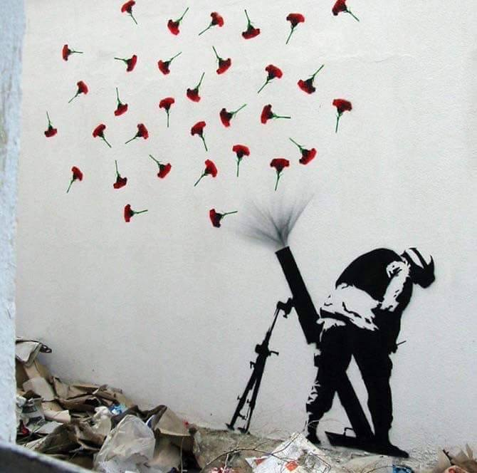FLOWER BOMBS - #Creative #Streetart - be artist be art
