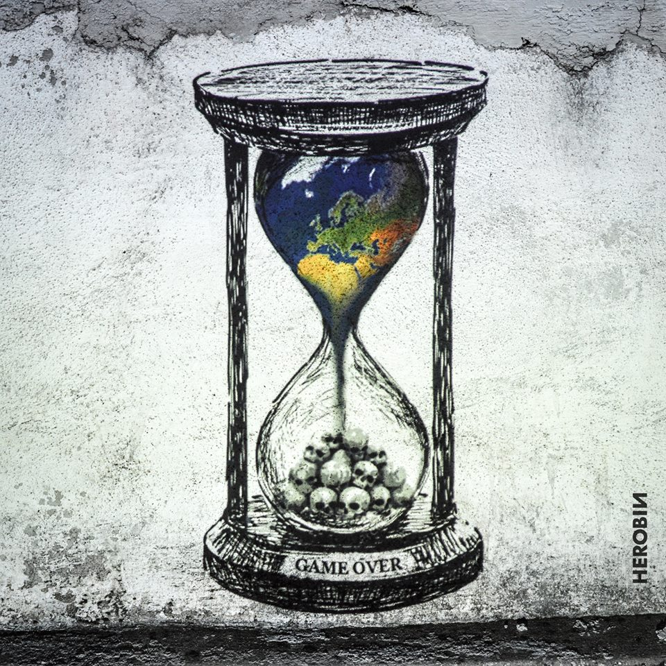 Game Over - #ClimateChange - be artist be art