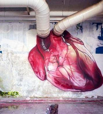 #Heart - Creative #Streetart - be artist be art
