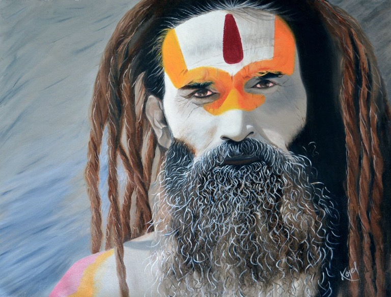 Baba from #Nepal - #World faces - be artist be art