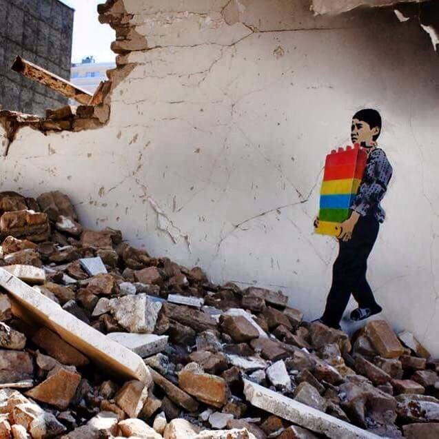 Nothing can #Destroy #Hope - #WorldHumanitarianDay_ be artist be art
