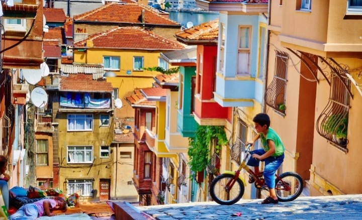 #Colorful villages around the world - #Explore - be artist be art