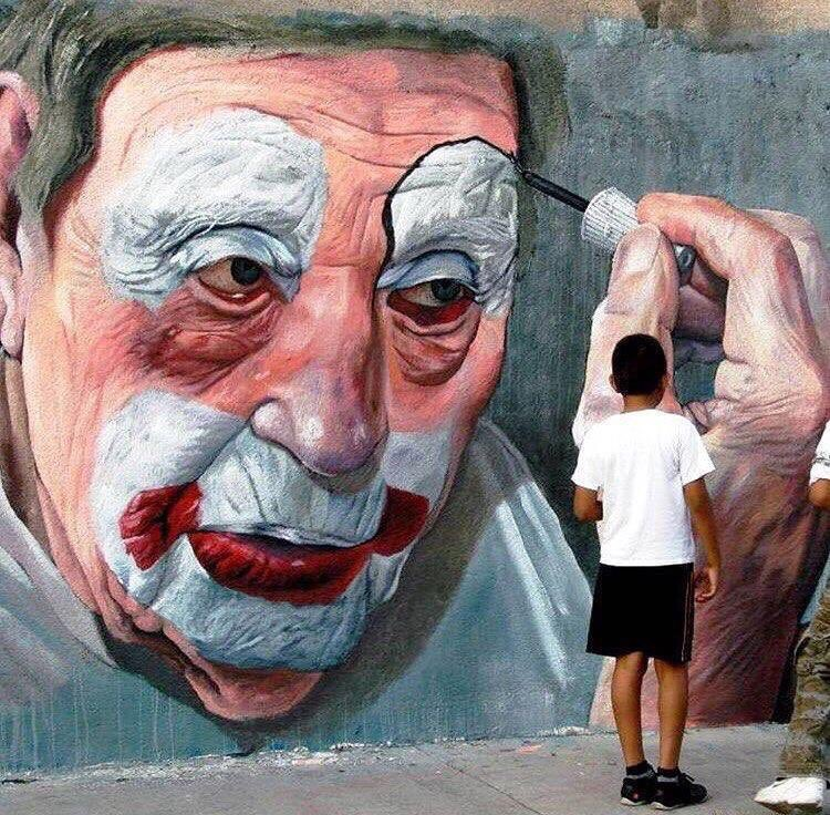 Gettin' ready to #smile - #Creative #Streetart - be artist be art