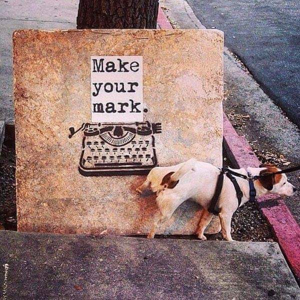 make your mark - street art - be artist be art