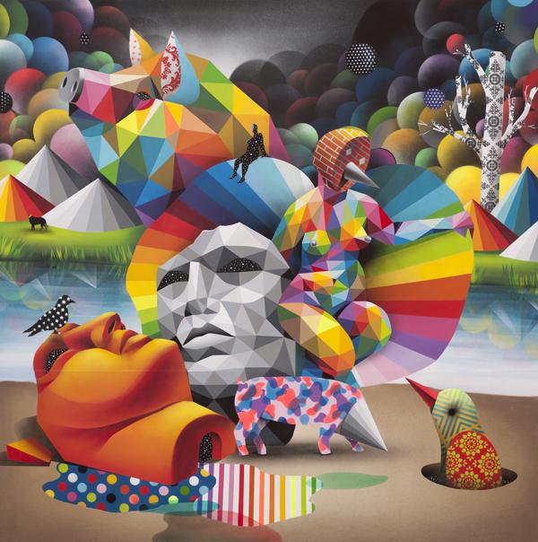 Renaissance Decadence - OKUDA San Miguel - Be artist Be art