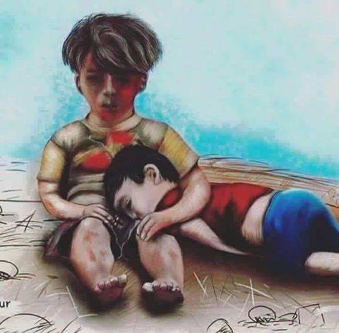 Shameful #World - #Refugees - be artist be art
