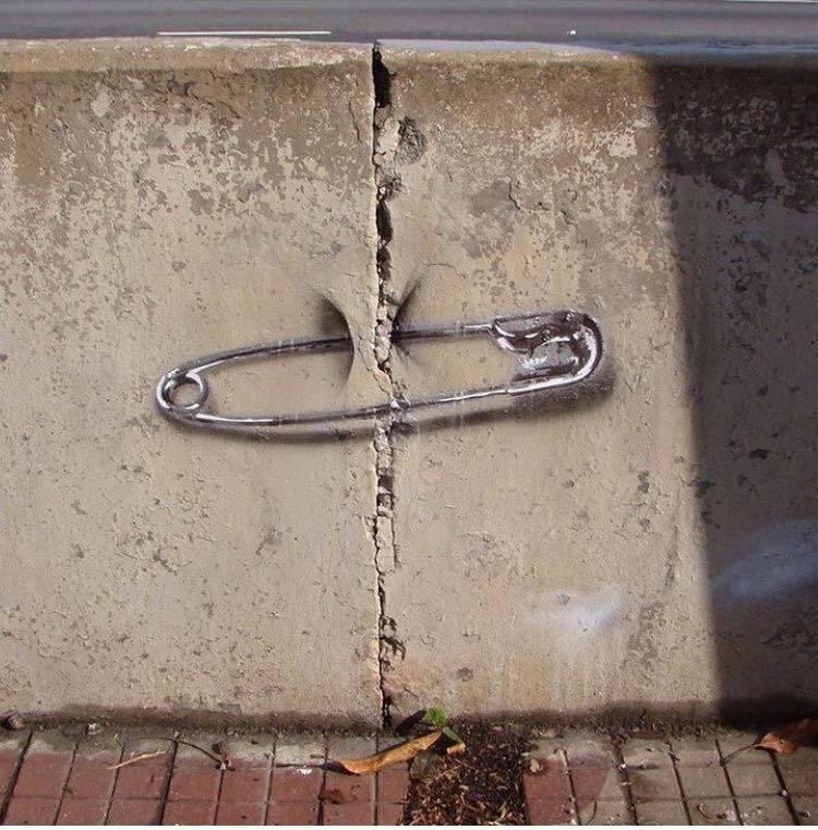 Simple & Beauty - #Creative #Streetart - Be artist Be art