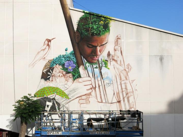 """Tanausu"" #Nature #Streetart by Sabotaje Al Montaje - be artist be art"
