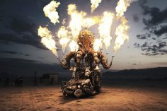 Burning Man 2016 Insanity - by Victor Habchy - Be artist Be art