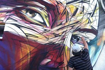 Lady #StreetArt (Gallery) - by Hopare - Be artist Be art