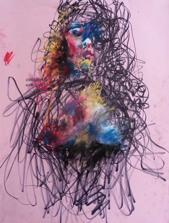 Blurred Lines - by Will Kim - Be artist Be art