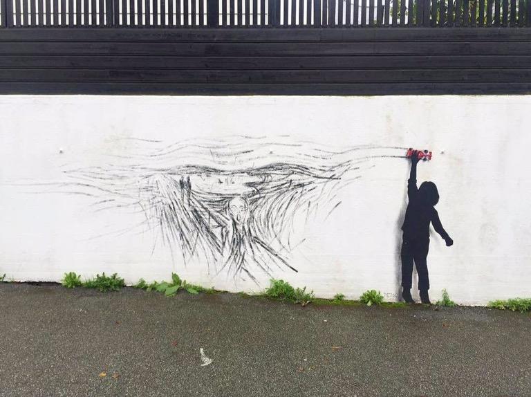 Playing is an #Art - #Creative #StreetArt - Be artist Be art