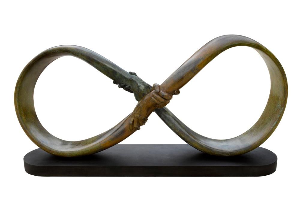 Dreams, Peace & Art made Sculpture - by Lorenzo Quinn - be artist be art