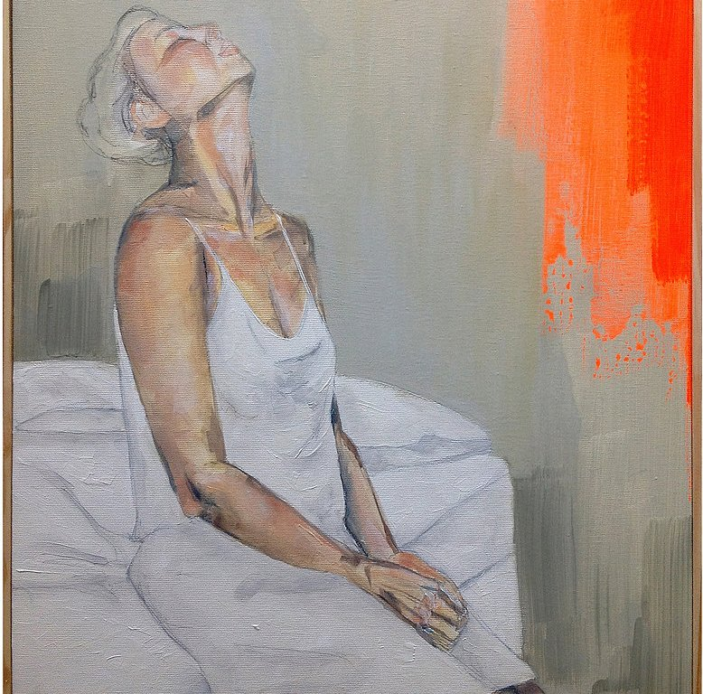 """Wake up"" Series - Oil on Canvas by Maria Beatitude - be artist be art"