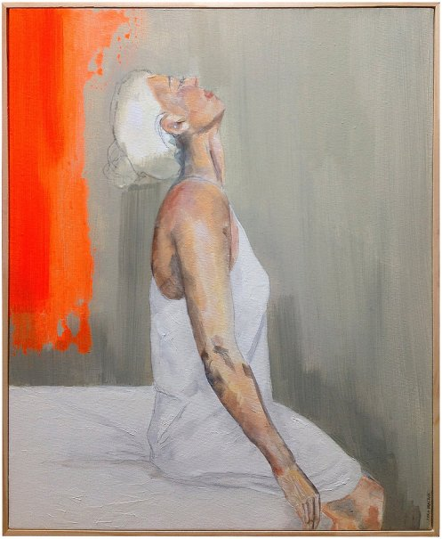 """""""Wake up"""" Series - Oil on Canvas by Maria Beatitude - be artist be art"""